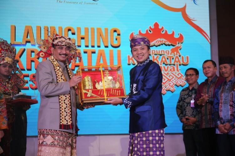 Menpar Resmikan Peluncurkan Lampung Festival Krakatau 2018
