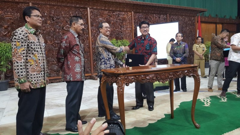 Kementerian Sekretaris Negara Pinjamkan Tanah untuk Anjungan Lampung di TMII