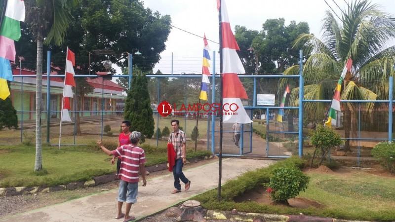 Meriahkan HUT RI, Warga Rutan Kotabumi Adakan Beragam Lomba