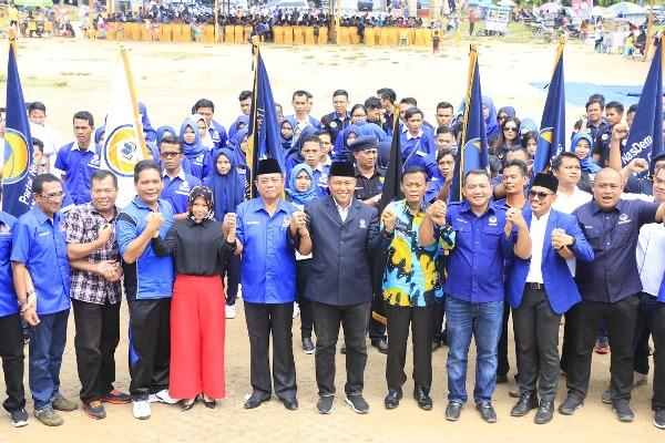 LAMPUNG POST | Warga Metro Dukung Mustafa Jadi Gubernur