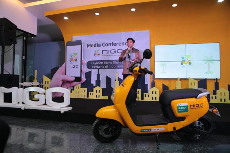Migo Bike Hadir di Jakarta