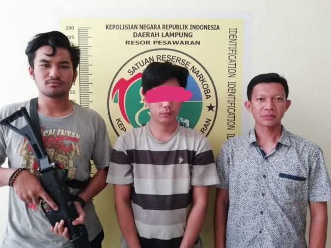 Miliki Sabu, Warga Dusun Kelapa Dua Dibekuk Polisi