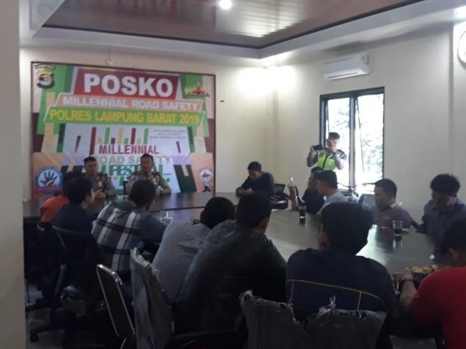 Millennial Road Safety Festival Polres Lambar Tonjolkan Kearifan Lokal