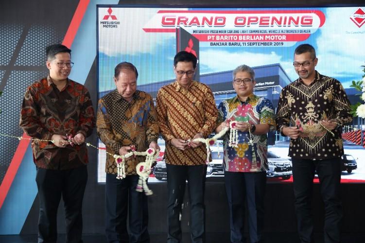 Mitsubishi Resmikan Diler Pertamanya di Banjarbaru