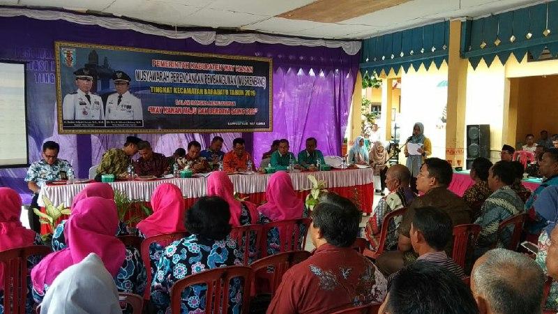 Musrenbang Kecamatan Penting untuk Perencanaan Pembangunan 2020