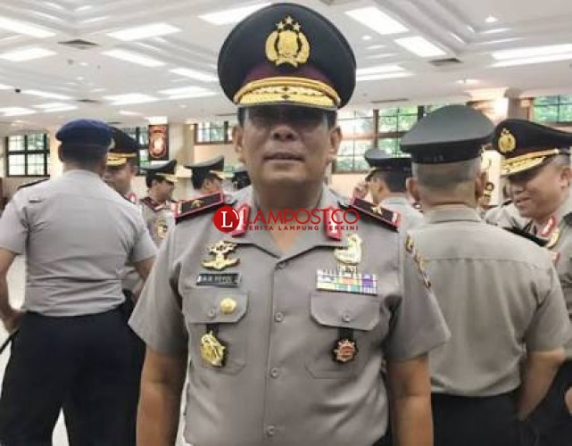 Mutasi di Polri, Wakapolda Lampung Diganti, Tomsi Jadi Kapolda Banten
