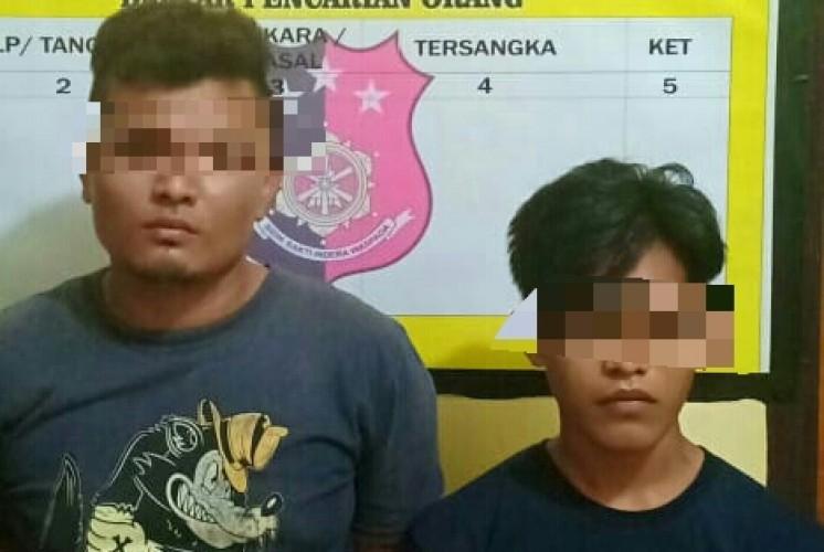 Nyabu di Warung Kosong, Dua Pemuda Dibekuk Polisi