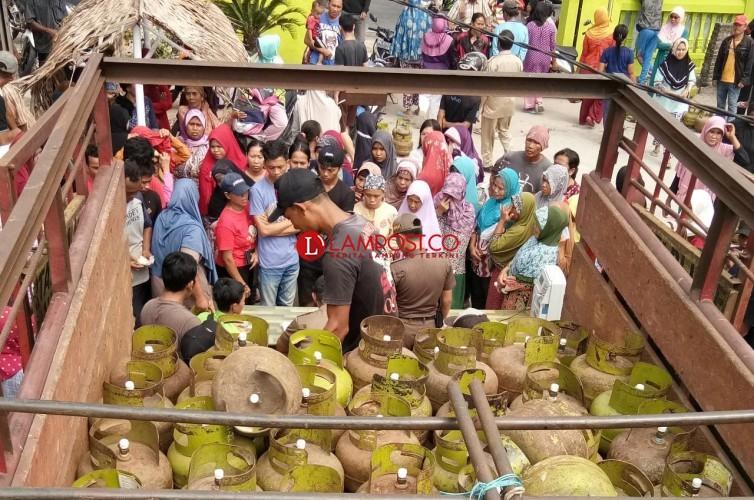 Operasi Pasar Gas Elpiji 3 Kg di Lamsel Kembali Digelar, Ini Jadwalnya