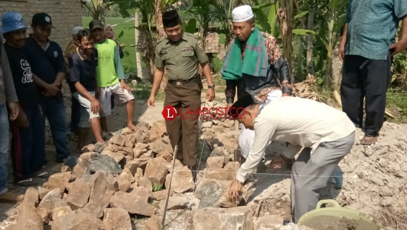 Optimalkan Dana Desa, Desa Margasari  Gencar Membangun