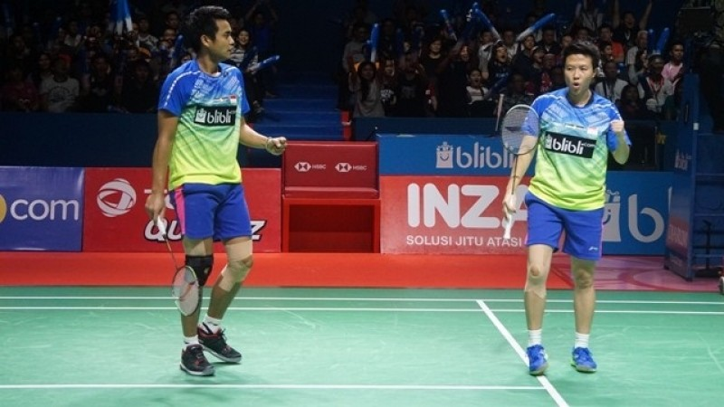 Indonesia Raih Dua Gelar Juara di Indonesia Open 2018