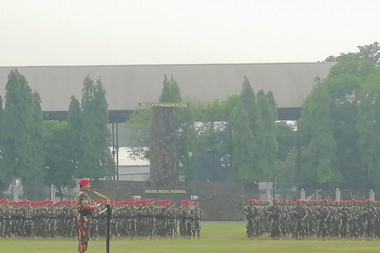 Panglima TNI: Kopassus Hantu Bagi Musuh Negara