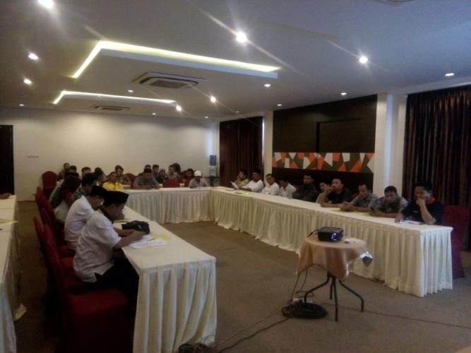 Panwaslu Pringsewu Sosialisasi Aturan Pilgub 2018 dan Pemilu 2019