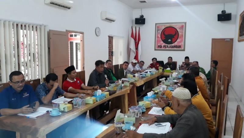 Partai Koalisi Joko Widodo - Ma'ruf Amin Lampung Rapatkan Barisan