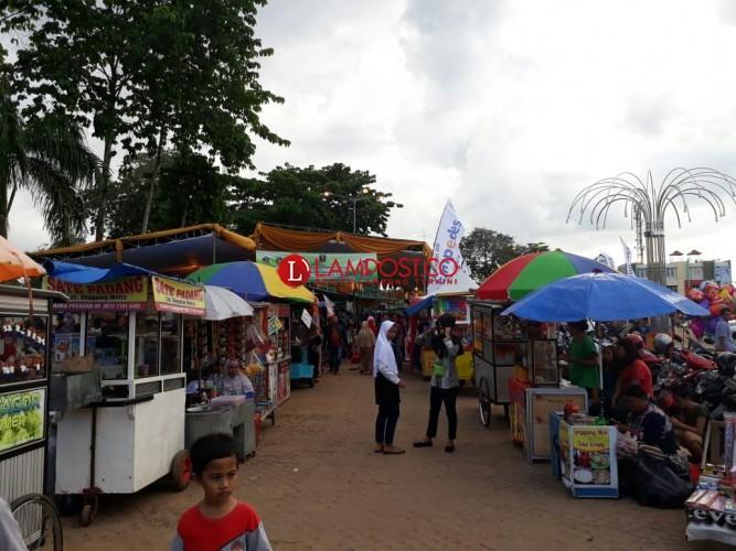 Pasar Senja Samber Park Sediakan Keperluan Buka Puasa