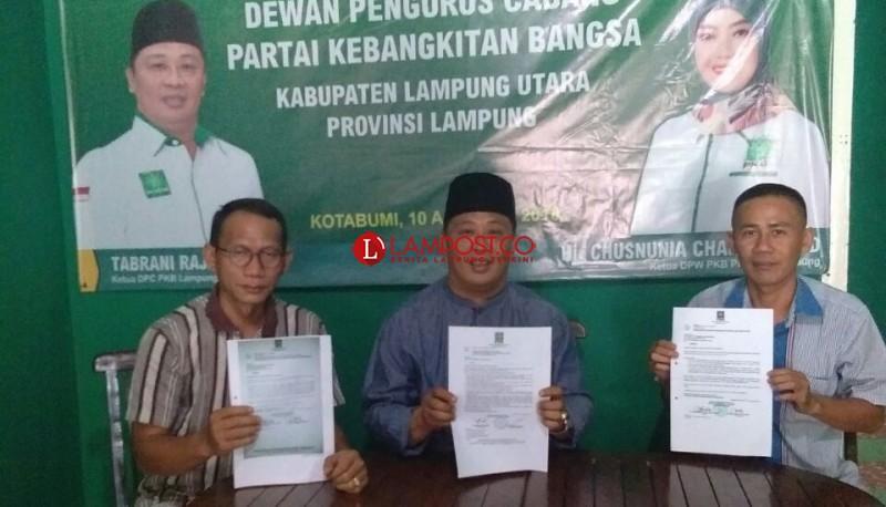PAW, Ahmad Sampurna Gantikan Syamsu Nurman di Kursi DPRD Lampura Fraksi PKB