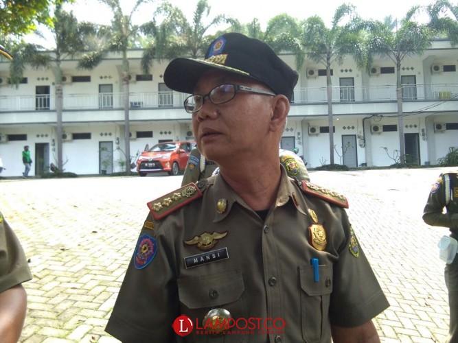 Pedagang Musiman Mulai Penuhi Jalan Protokol Bandar Lampung