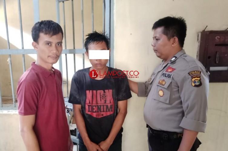 Pelaku Pencurian Kusen Universitas Megow Pak Ditangkap