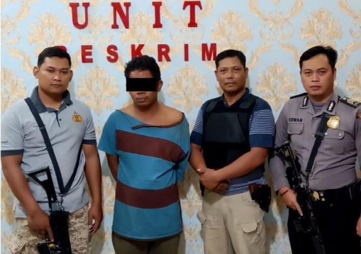 Pelaku Penggelapan Truk Milik Polresta Palembang Dibekuk di Lamteng