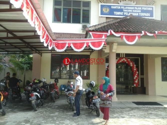 Pelayanan Kantor Pajak Tanjungkarang Terkendala Jaringan Internet