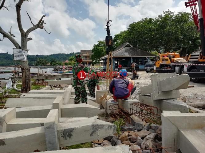 Pembangunan Dermaga Canti Dilanjutkan