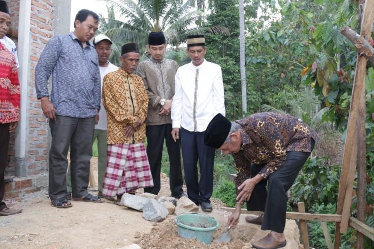 Pembangunan Masjid Al-Banun di Peingsewu Dimulai