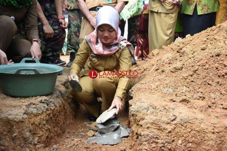 Pembangunan Masjid dan Asrama MTsMuhammadiyah Way Bungur Dimulai