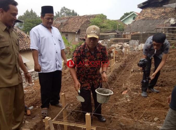 Pembangunan PAUD di Desa Semanak Telan Rp182 Juta dari Dana Desa