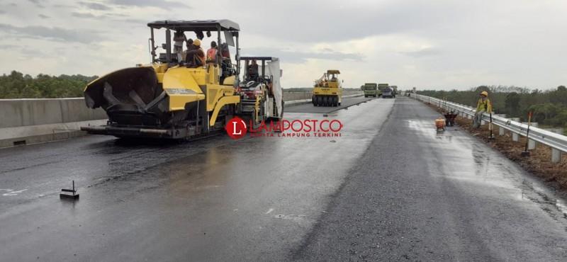 Pembangunan Jalan Tol Mesuji - Palembang Terus Dikebut