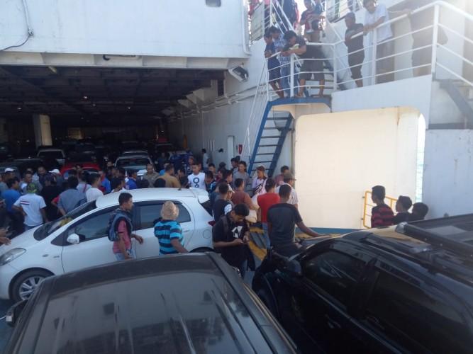 Pemilik Mobil Yang Tercebur ke Laut dari Atas Kapal Feri Dapat Asuransi dari Jasa Raharja