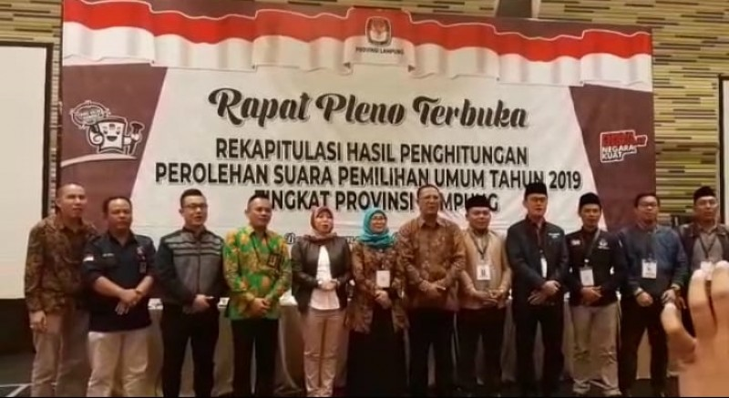 Pemilu Lampung Lancar,  KPU: Terima Kasih kepada Media Massa dan Masyarakat