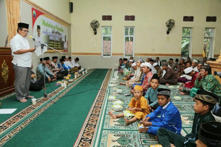 Pemkab Lampung SelatanBeri Bantuan Rumah Ibadah di Kecamatan Way Sulan