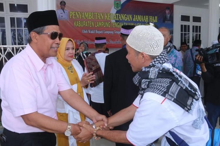 Pemkab Lampung Tengah Sambut 392 Jemaah Haji
