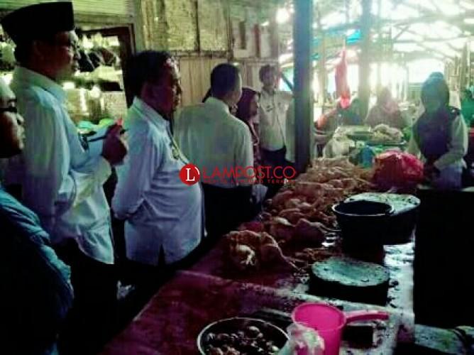 Pemkab Lamsel Jadwalkan Sidak ke Pasar