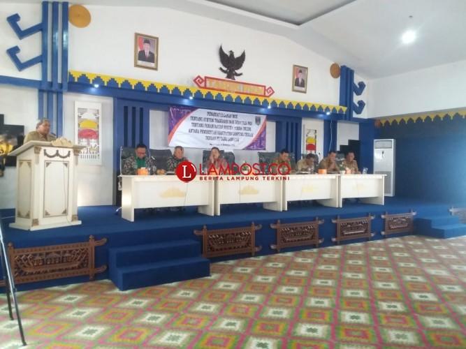 Pemkab Lamteng Gandeng Bank Lampung Tekan Potensi Kebocoran Anggaran