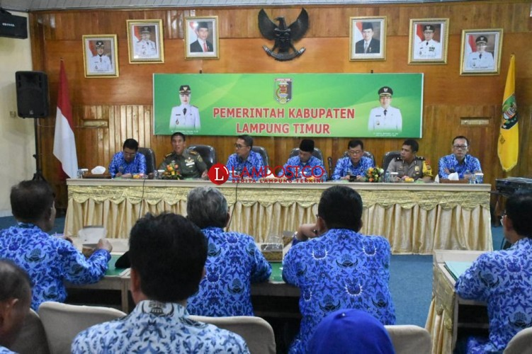 Pemkab Lamtim Persiapkan Kedatangan Presiden Jokow Widodo