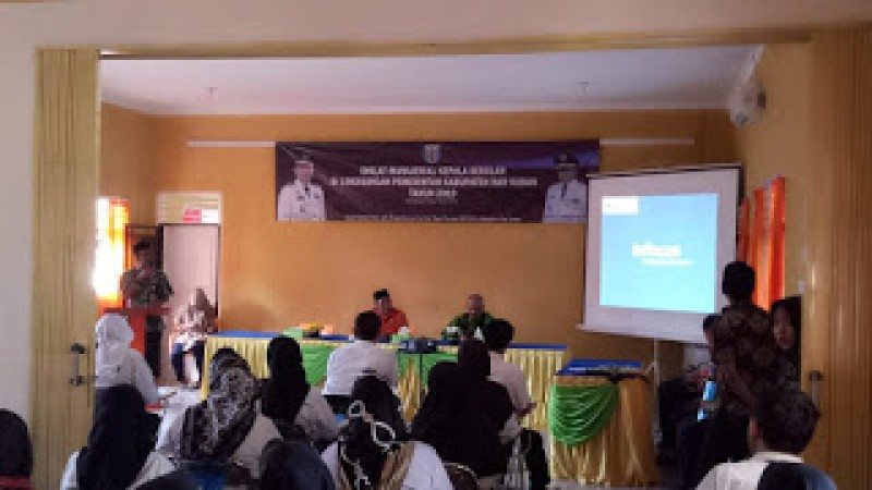 Pemkab Way Kanan Selenggarakan Diklat Fungsional Pelatihan Manajerial Kepala Sekolah