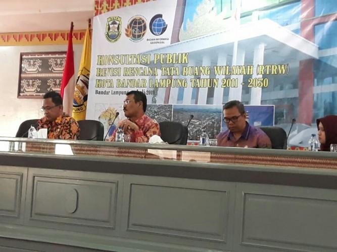 Pemkot Kota Bandar Lampung PerluKonsistensi untuk RTRW