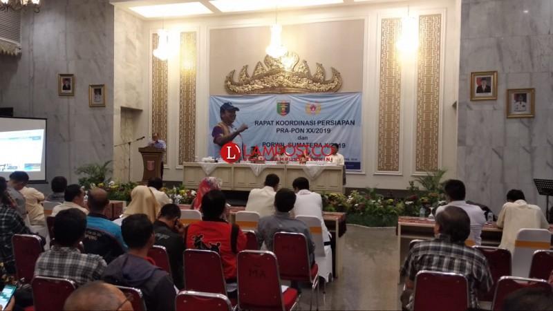 KONI Lampung Bersiap Gapai Prestasi Pada Pra-PON XX 2019