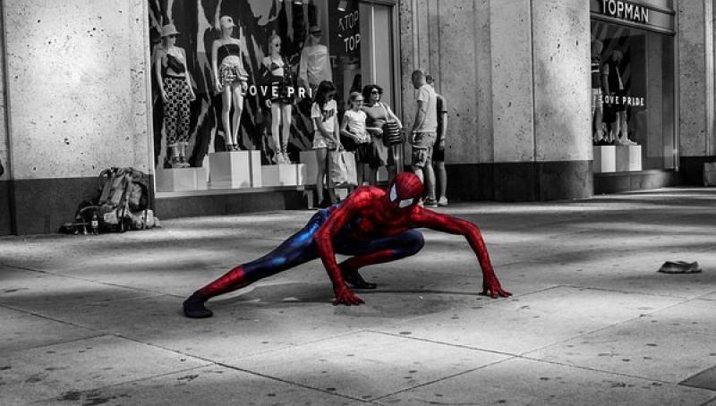 Pencuri Spiderman