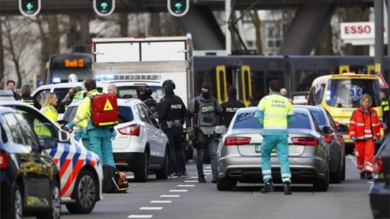 Penembakan Terjadi di Stasiun Trem Belanda