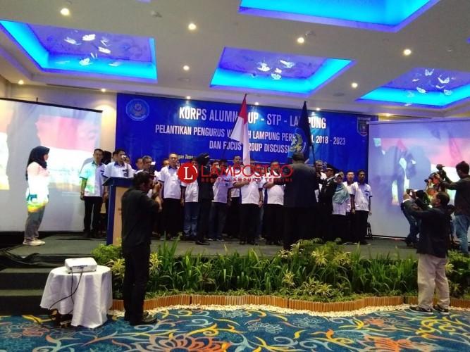 Pengurus Korps Alumni AUP-STP Lampung Dikukuhkan