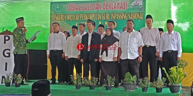 Pengurus Wilayah PGIN Provinsi Lampung Dikukuhkan