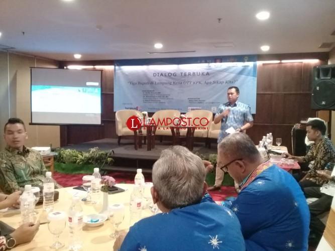 Pengusaha Lampung Komitmen Jauhi Praktik Korupsi