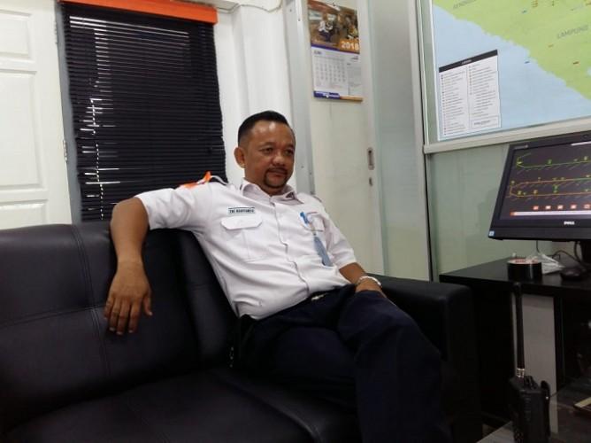Penumpang di Stasiun Kereta Api Tanjungkarang Masih Normal