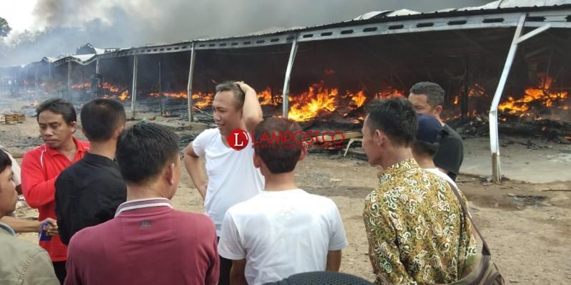 Penyebab Kebakaran di Pasar Pulungkencana Akibat Korsleting Listrik