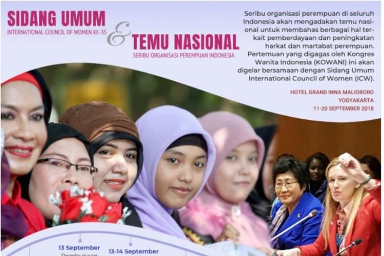 Perempuan dari Berbagai Negara bersidang di Yogyakarta