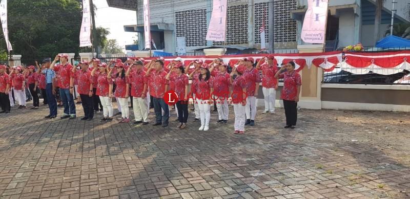 Peringati Hari Kemerdekaan PSMTI Bandar Lampung Bawa Semangat Persatuan