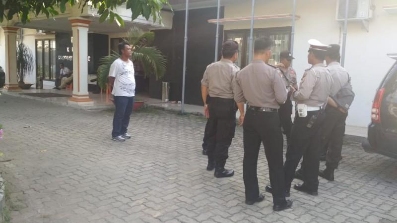 Polda Lampung Siaga, Pertebal Pengamanan dan Patroli Gabungan