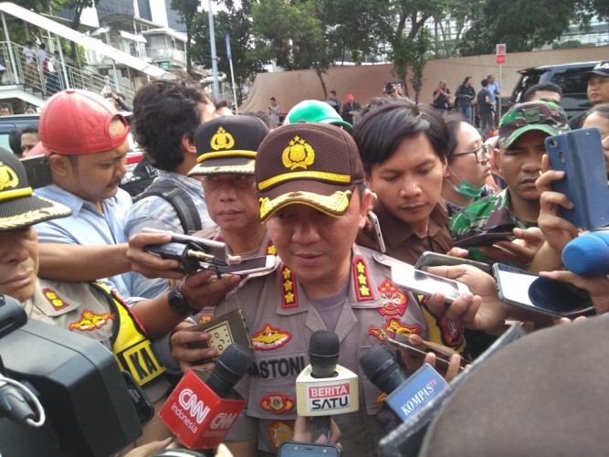 Perusuh di KPK Dikejar Polisi