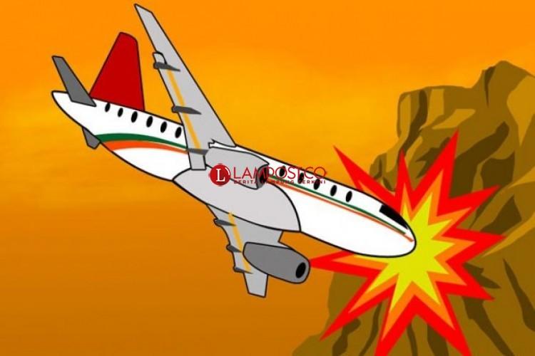 Pesawat dengan 104 Penumpang Jatuh di Havana Kuba